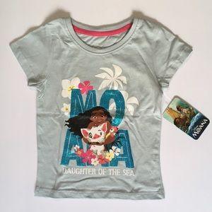 NWT Disney 3T Moana shirt